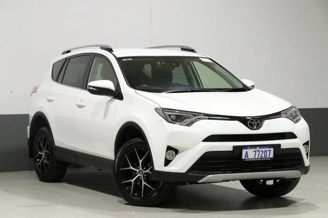 Used Toyota RAV4 ZSA42R MY18 GXL (2WD), 2018 Toyota RAV4 ZSA42R MY18 GXL (2WD) White Continuous Variable Wagon