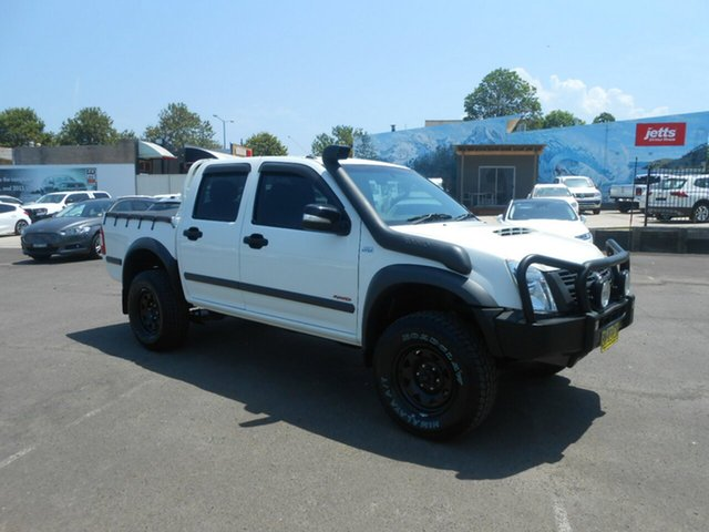 Used Holden Rodeo RA MY08 LX Crew Cab, 2008 Holden Rodeo RA MY08 LX Crew Cab White 5 Speed Manual Utility