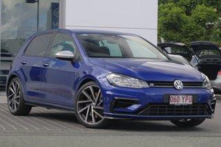 2018 Volkswagen Golf 7.5 MY19 R DSG 4MOTION Lapiz Blue 7 Speed Sports Automatic Dual Clutch.