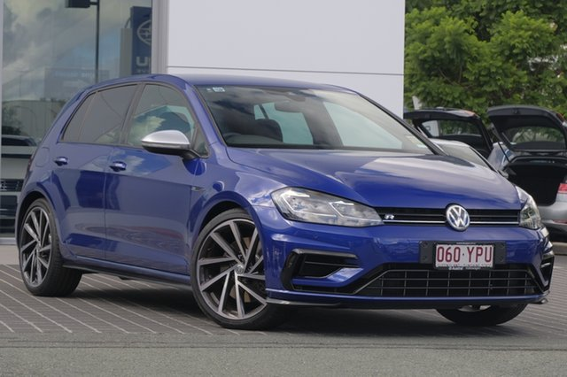 Demo Volkswagen Golf 7.5 MY19 R DSG 4MOTION, 2018 Volkswagen Golf 7.5 MY19 R DSG 4MOTION Lapiz Blue 7 Speed Sports Automatic Dual Clutch
