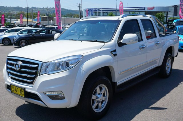 Used Great Wall Steed NBP , 2017 Great Wall Steed NBP White 6 Speed Manual Utility