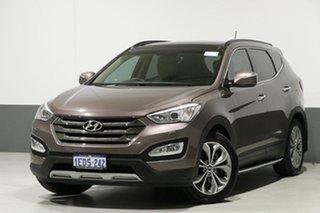 2013 Hyundai Santa Fe DM Highlander CRDi (4x4) Bronze 6 Speed Automatic Wagon.