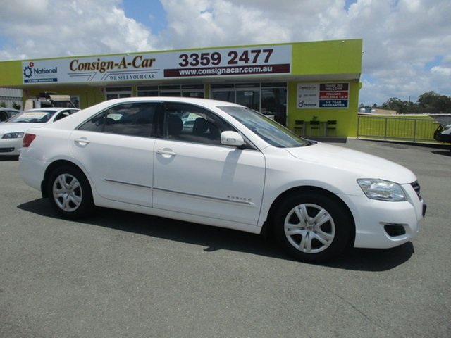 Used Toyota Aurion GSV40R AT-X, 2008 Toyota Aurion GSV40R AT-X White 6 Speed Sports Automatic Sedan