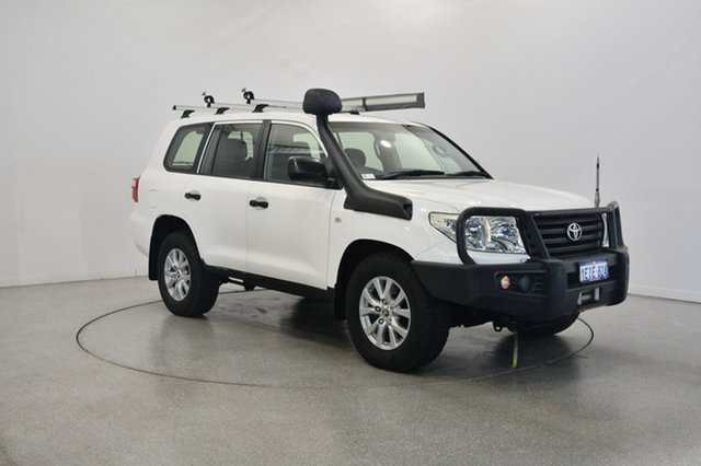 Used Toyota Landcruiser VDJ200R MY13 GX, 2013 Toyota Landcruiser VDJ200R MY13 GX White 6 Speed Sports Automatic Wagon