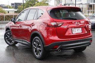 2015 Mazda CX-5 KE1022 Grand Touring SKYACTIV-Drive AWD Soul Red 6 Speed Sports Automatic Wagon.