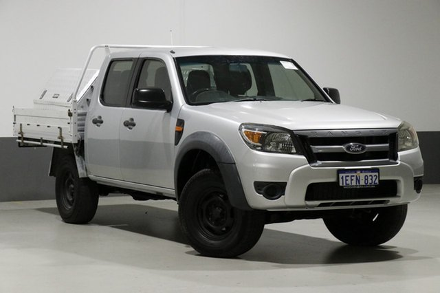 Used Ford Ranger PK XL (4x4), 2011 Ford Ranger PK XL (4x4) Silver 5 Speed Manual Dual Cab Chassis