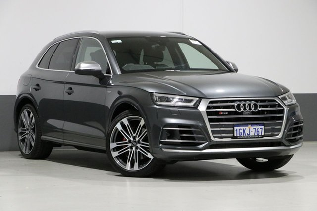 Used Audi SQ5 FY MY17 3.0 TFSI Quattro, 2017 Audi SQ5 FY MY17 3.0 TFSI Quattro Grey 8 Speed Automatic Tiptronic Wagon