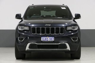 2013 Jeep Grand Cherokee WK MY14 Limited (4x4) Grey 8 Speed Automatic Wagon.