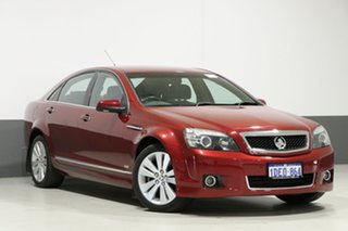 2008 Holden Caprice WM MY08 Red 6 Speed Auto Active Sequential Sedan.