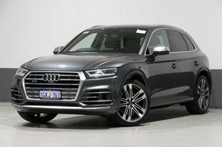 2017 Audi SQ5 FY MY17 3.0 TFSI Quattro Grey 8 Speed Automatic Tiptronic Wagon.