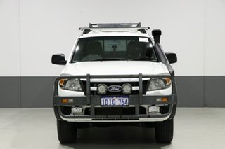2010 Ford Ranger PK XL (4x2) White 5 Speed Manual Dual Cab Pick-up.