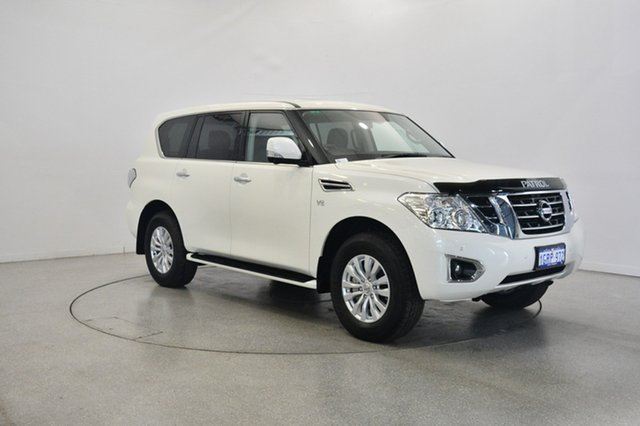 Used Nissan Patrol Y62 Series 4 TI, 2018 Nissan Patrol Y62 Series 4 TI White 7 Speed Sports Automatic Wagon