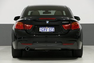 2015 BMW 420i F33 MY15 Sport Line Sapphire Black 8 Speed Automatic Convertible