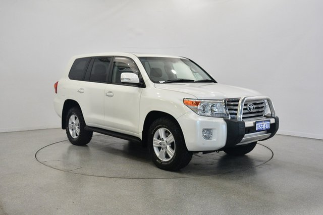 Used Toyota Landcruiser VDJ200R MY13 VX, 2014 Toyota Landcruiser VDJ200R MY13 VX White 6 Speed Sports Automatic Wagon