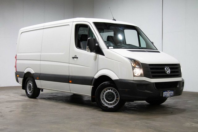 Used Volkswagen Crafter 2ED1 MY16 35 MWB TDI300, 2016 Volkswagen Crafter 2ED1 MY16 35 MWB TDI300 White 6 Speed Manual Van