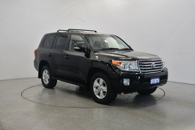 Used Toyota Landcruiser VDJ200R MY13 VX, 2013 Toyota Landcruiser VDJ200R MY13 VX Black 6 Speed Sports Automatic Wagon