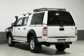 2010 Ford Ranger PK XL (4x2) White 5 Speed Manual Dual Cab Pick-up