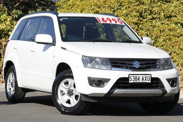 Used Suzuki Grand Vitara JB MY13 Urban 2WD Navigator, 2013 Suzuki Grand Vitara JB MY13 Urban 2WD Navigator White 4 Speed Automatic Wagon