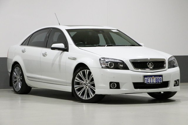 Used Holden Caprice WN V, 2013 Holden Caprice WN V White 6 Speed Auto Active Sequential Sedan