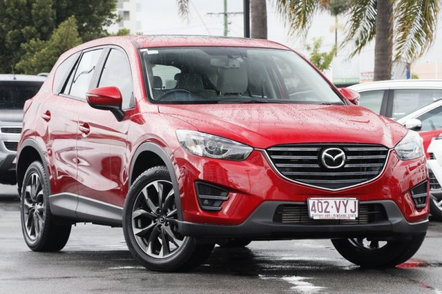 Used Mazda CX-5 KE1022 Grand Touring SKYACTIV-Drive AWD, 2015 Mazda CX-5 KE1022 Grand Touring SKYACTIV-Drive AWD Soul Red 6 Speed Sports Automatic Wagon