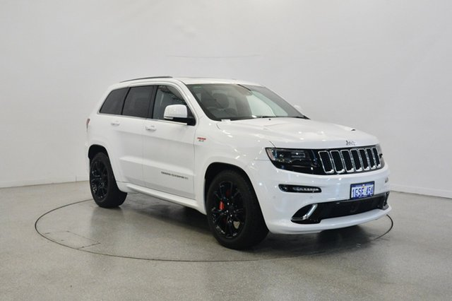 Used Jeep Grand Cherokee WK MY2014 SRT, 2014 Jeep Grand Cherokee WK MY2014 SRT White 8 Speed Sports Automatic Wagon
