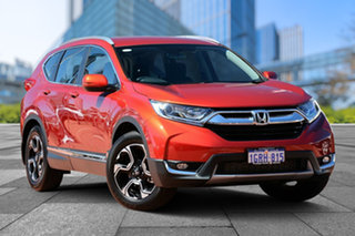 2018 Honda CR-V RW MY18 VTi-S FWD Passione Red 1 Speed Constant Variable Wagon.