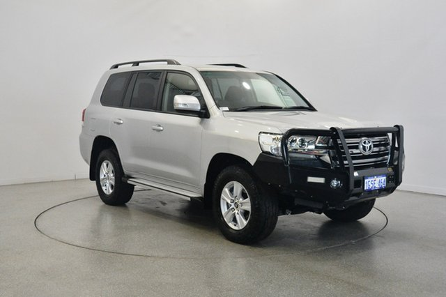 Used Toyota Landcruiser VDJ200R GXL, 2016 Toyota Landcruiser VDJ200R GXL Silver 6 Speed Sports Automatic Wagon