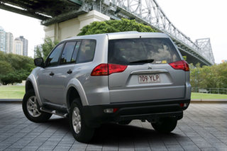 2012 Mitsubishi Challenger PB (KG) MY12 Silver 5 Speed Manual Wagon.