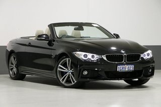 2015 BMW 420i F33 MY15 Sport Line Sapphire Black 8 Speed Automatic Convertible.