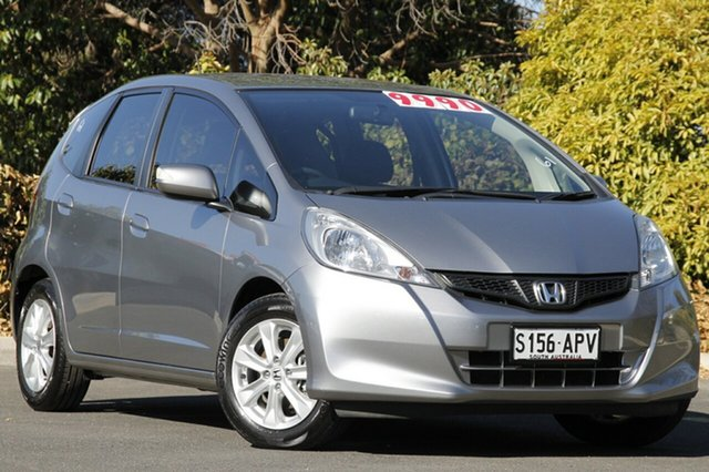 Used Honda Jazz GE MY12 Vibe, 2012 Honda Jazz GE MY12 Vibe Silver Storm 5 Speed Manual Hatchback