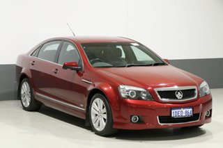 2008 Holden Caprice WM MY08 Red 6 Speed Auto Active Sequential Sedan