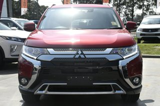 2018 Mitsubishi Outlander ZL MY19 LS 2WD Red 6 Speed Constant Variable Wagon