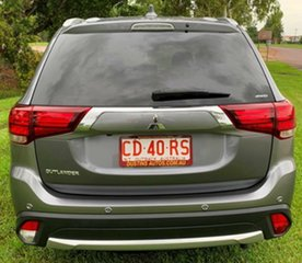 2017 Mitsubishi Outlander ZK MY17 LS 4WD Grey 6 Speed Constant Variable Wagon