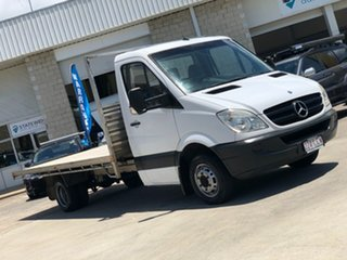 2008 Mercedes-Benz Sprinter NCV3 MY08 515CDI LWB White 6 Speed Manual Cab Chassis