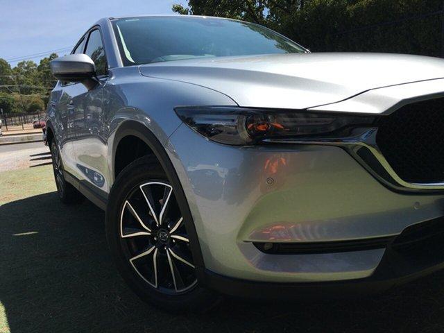 Demo Mazda CX-5 KF4WLA GT SKYACTIV-Drive i-ACTIV AWD, 2018 Mazda CX-5 KF4WLA GT SKYACTIV-Drive i-ACTIV AWD Sonic Silver 6 Speed Sports Automatic Wagon