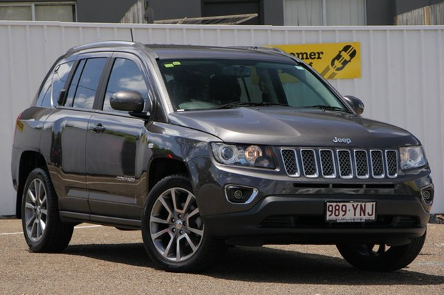 Used Jeep Compass MK MY15 Limited, 2014 Jeep Compass MK MY15 Limited Grey 6 Speed Sports Automatic Wagon