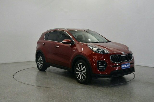 Used Kia Sportage QL MY17 SLi AWD, 2016 Kia Sportage QL MY17 SLi AWD Fiery Red 6 Speed Sports Automatic Wagon