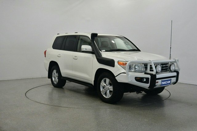 Used Toyota Landcruiser VDJ200R MY12 VX, 2012 Toyota Landcruiser VDJ200R MY12 VX White 6 Speed Sports Automatic Wagon