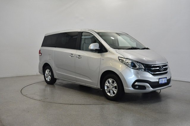 Used LDV G10 SV7A , 2016 LDV G10 SV7A Silver 6 Speed Sports Automatic Wagon