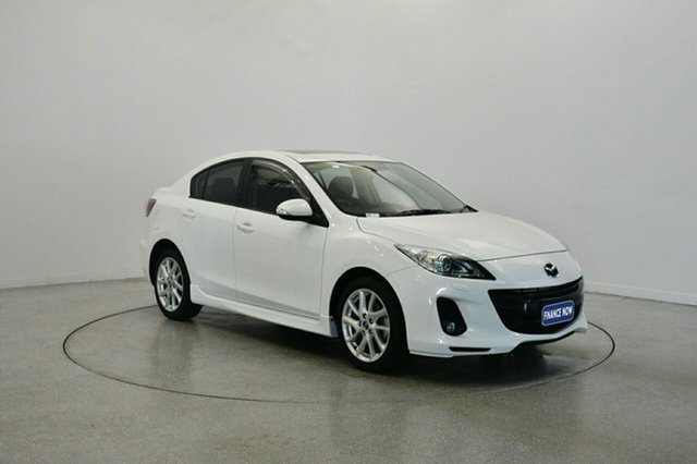 Used Mazda 3 BL10L2 MY13 SP25, 2013 Mazda 3 BL10L2 MY13 SP25 White 6 Speed Manual Sedan