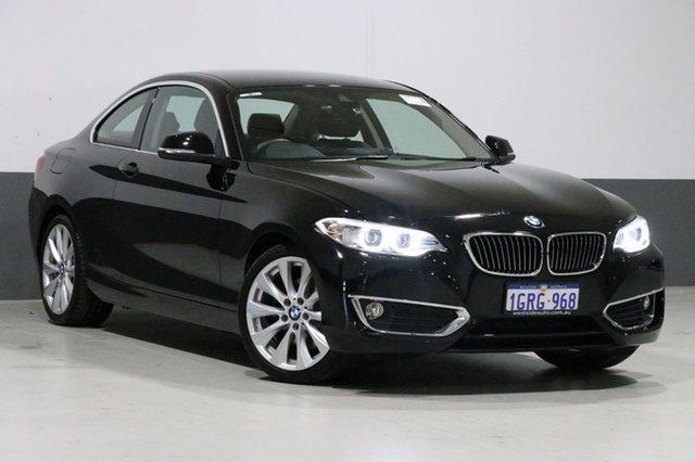 Used BMW 220i F22 MY16 Luxury Line, 2016 BMW 220i F22 MY16 Luxury Line Black 6 Speed Manual Coupe