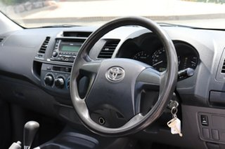 2013 Toyota Hilux TGN16R MY12 Workmate 4x2 Glacier 4 Speed Automatic Cab Chassis