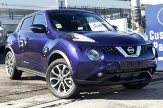 2018 Nissan Juke F15 Series 2 Ti-S X-tronic AWD Ink Blue 1 Speed Constant Variable Hatchback.