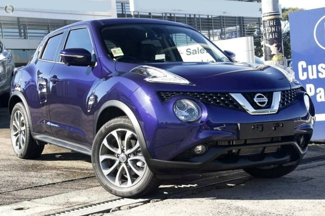 Demo Nissan Juke F15 Series 2 Ti-S X-tronic AWD, 2018 Nissan Juke F15 Series 2 Ti-S X-tronic AWD Ink Blue 1 Speed Constant Variable Hatchback