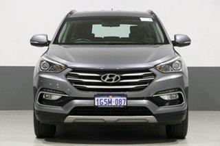 2016 Hyundai Santa Fe DM Series II (DM3) Active CRDi (4x4) Grey 6 Speed Automatic Wagon.