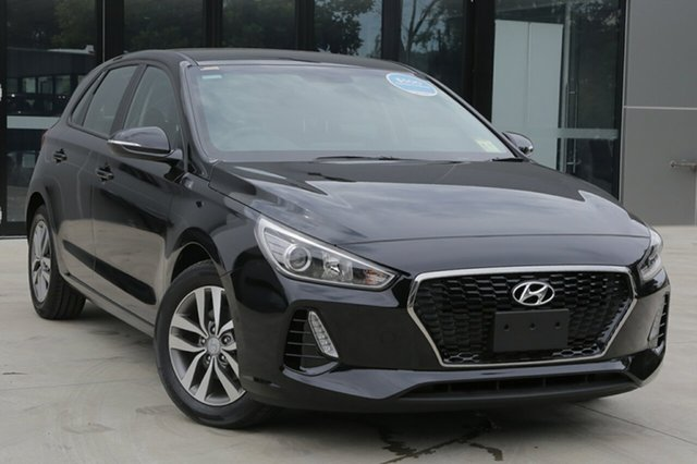 New Hyundai i30 PD2 MY18 Active, 2018 Hyundai i30 PD2 MY18 Active Phantom Black 6 Speed Sports Automatic Hatchback