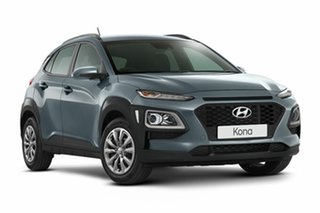 2018 Hyundai Kona OS.2 MY19 Active 2WD Lake Silver 6 Speed Sports Automatic Wagon.