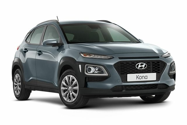 Demo Hyundai Kona OS.2 MY19 Active 2WD, 2018 Hyundai Kona OS.2 MY19 Active 2WD Lake Silver 6 Speed Sports Automatic Wagon