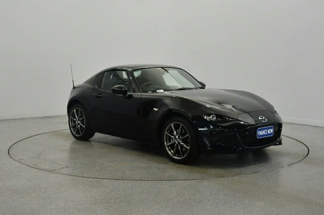 Used Mazda MX-5 ND GT RF SKYACTIV-Drive, 2017 Mazda MX-5 ND GT RF SKYACTIV-Drive Black 6 Speed Sports Automatic Targa