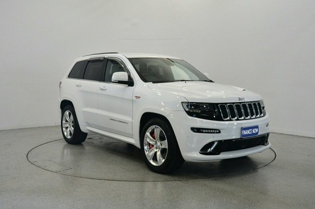 Used Jeep Grand Cherokee WK MY2014 SRT, 2013 Jeep Grand Cherokee WK MY2014 SRT White 8 Speed Sports Automatic Wagon